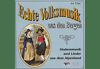 VARIOUS - Echte Volksmusik Aus Den Bergen 1  - (CD)