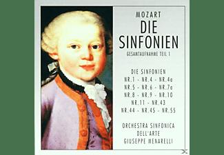 Orchestra Sinfonica Dell'arte - Mozart-Die Sinfonien Teil 1  - (CD)