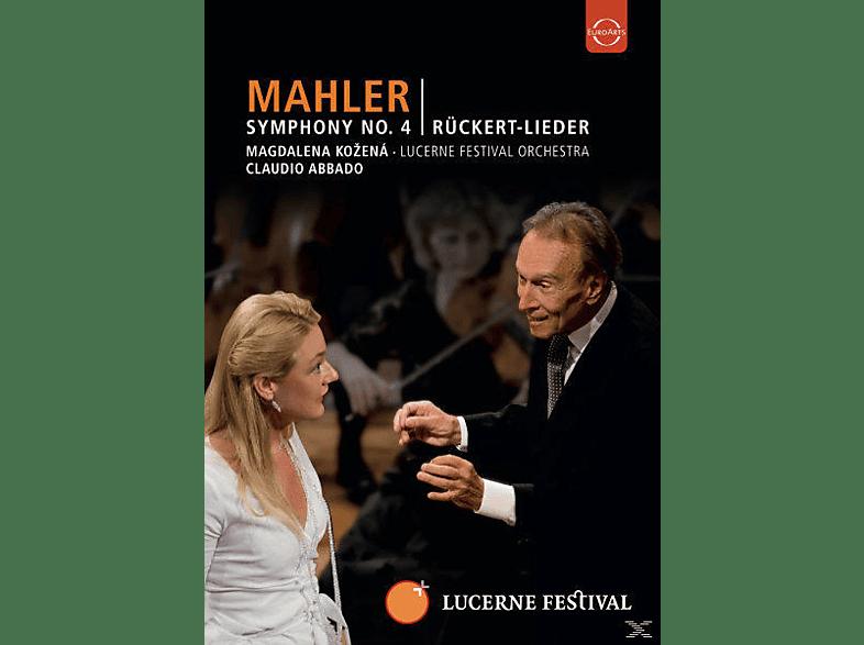 Lucerne Festival Orchestra, Claudio Abbado, Magdalena Kozená - Sinfonie 4/Rückert-Lieder [DVD]