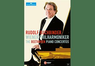 Rudolf Buchbinder, Die Wiener Philharmonik - Klavierkonzerte 1-5  - (DVD)