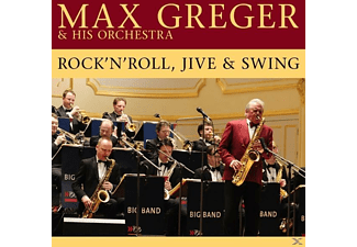 Max & His Orchestra Greger - Rock  N  Roll, Jive And Swing  - (Vinyl)