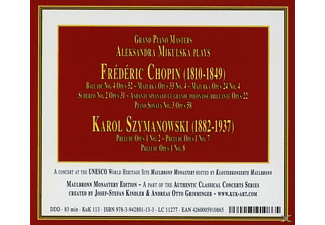 Aleksandra Mikulska - Grand Piano Masters: Aleksandra Mikulska  - (CD)
