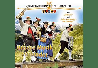 """Bundesmusikkapelle Zell Am Ziller Mit """"zellbrass - Unsere Musik verbindet  - (CD)"""