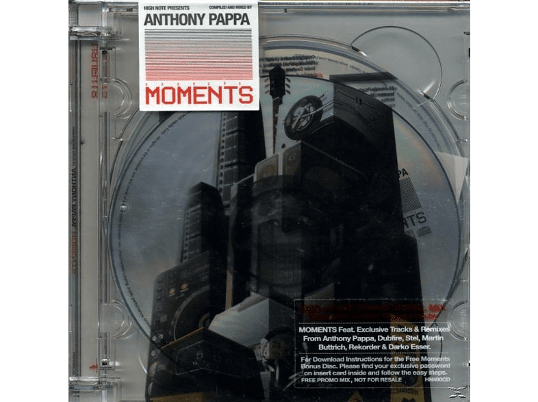 Anthony Pappa - Moments [CD]