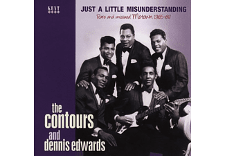 Contours And Dennis Edwar - Rare And Unissued Motown 1965-68 - (CD)