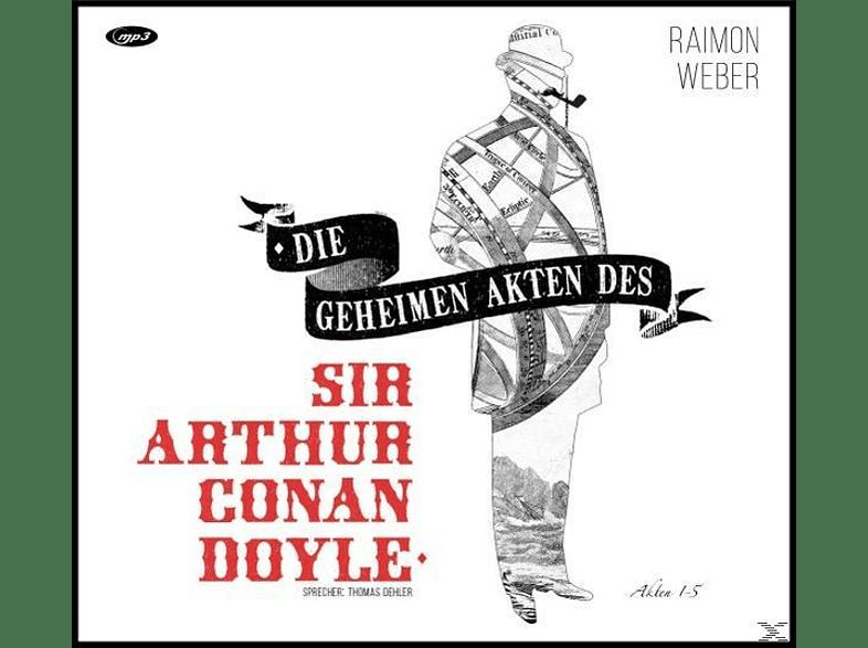 Weber Raimon - Die Geheimen Akten Des Sir Arthur Conan Doyle (Boxset Folge 1-5) - (CD)