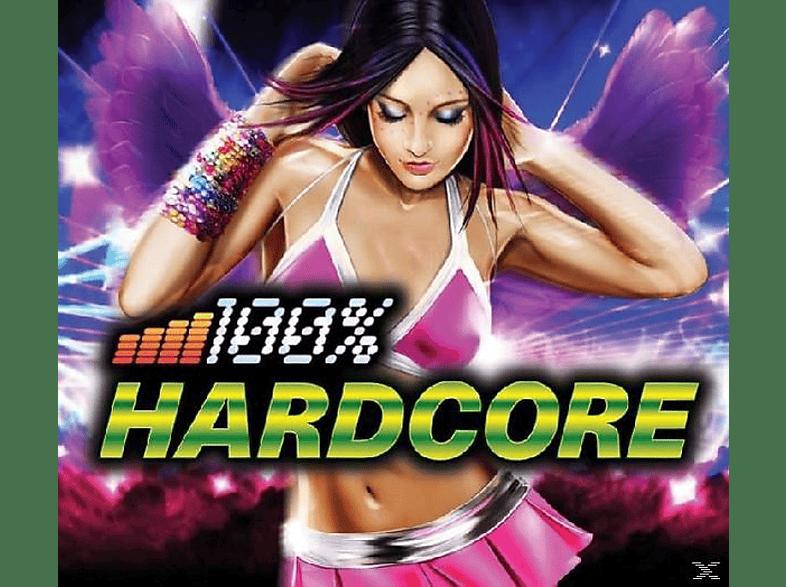 VARIOUS - 100 Percent Hardcore [CD]