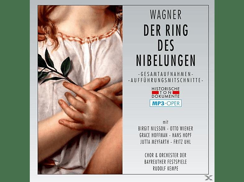 Chor Und Orchester Der Bayreuther Festspiele - Der Ring Des Nibelungen-Mp3 Oper [MP3-CD]