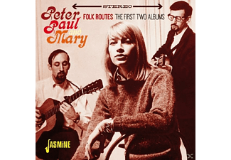 Paul & Mary Peter - Folk Routes - The First Two Albums  - (CD)
