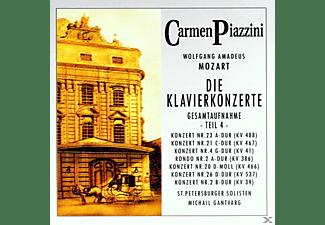 Piazzini Carmen - Die Klavierkonzerte (Teil 4)  - (CD)
