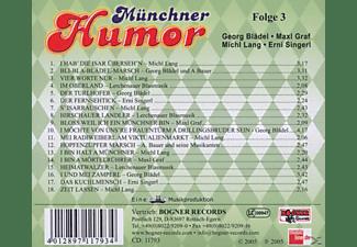 VARIOUS - Münchner Humor 3  - (CD)