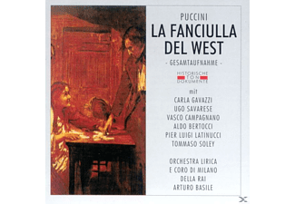 Orch.Lirica E Coro Di Milano - La Fanciulla Del West  - (CD)