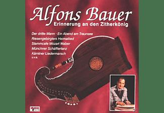 Alfons Bauer - Erinnerung An Den Zitherkönig  - (CD)