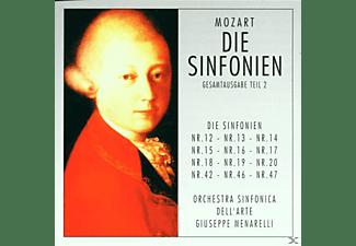 Orchestra Sinfonica Dell'arte - Mozart-Die Sinfonien Teil 2  - (CD)