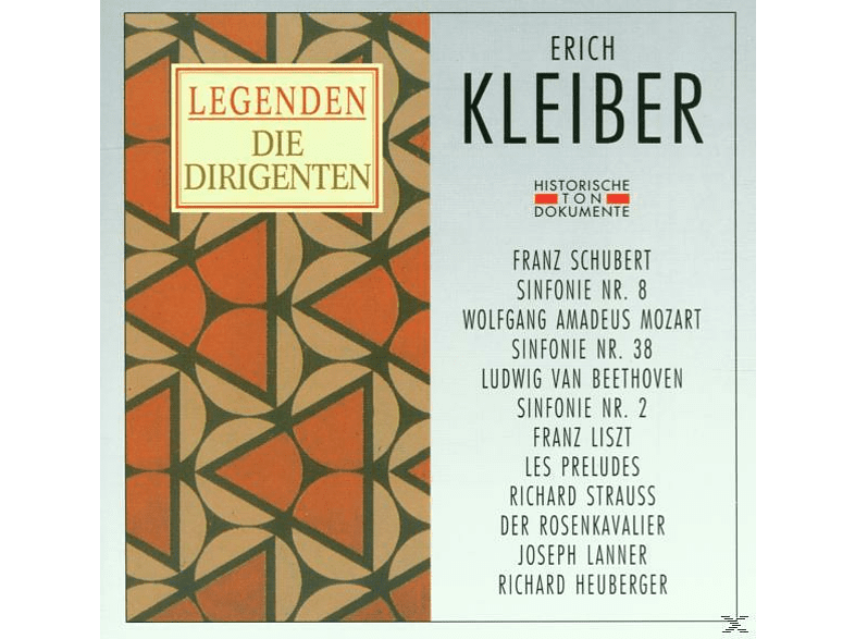 Erich Kleiber - Kleiber, Erich [CD]