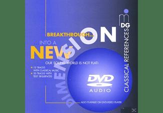 VARIOUS - Breakthrough Into A New Dimension  - (DVD-Audio Album)