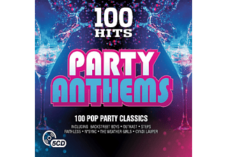VARIOUS - 100 Hits-Party Anthems  - (CD)