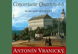 Martinu Quartet - Konzertante Quartette 4-6  - (CD)