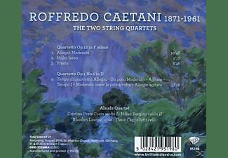 Alauda Quartet - 2 Streichquartette  - (CD)