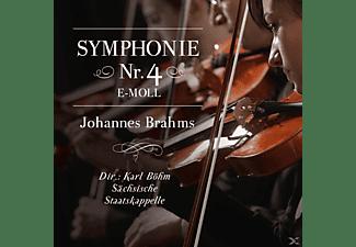 DIR.: KARL BÖHM - SÄCHSISCHE STAATSKAPPELLE - Sinfonie 4 e-moll,Johannes Brahms  - (CD)
