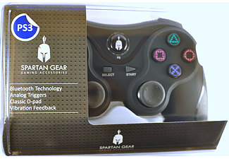 ENARXIS. Εκθεσιακό Προϊόν Spartan Gear Wireless Bluetooth Sixaxis Controller Black
