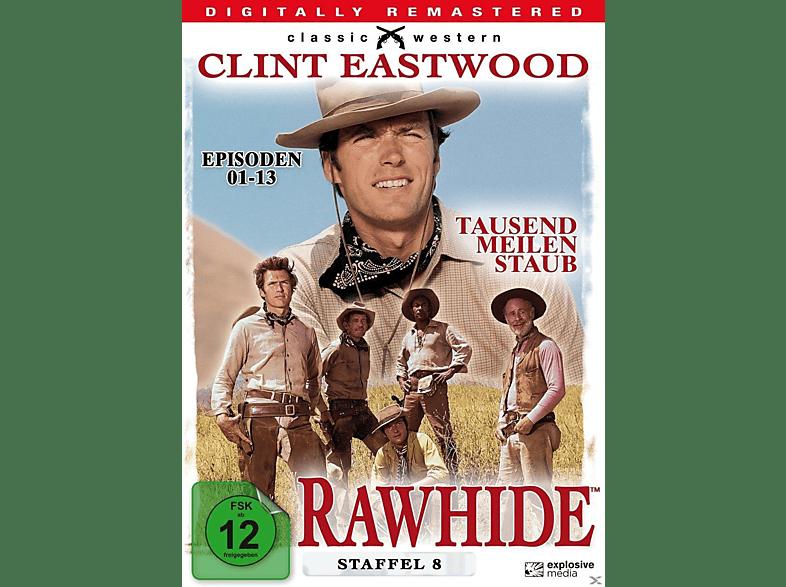 Rawhide - Tausend Meilen Staub - Staffel 8 [DVD]