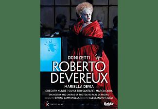 VARIOUS, Orchestra And Chorus Of The Teatro Real De Madrid, Mariella Devia, Marco Caria - Roberto Devereux  - (DVD)