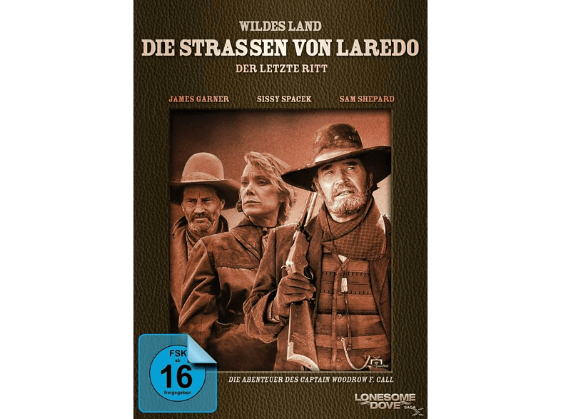 Wildes Land - Die Straßen von Laredo - Der letzte Ritt [DVD]