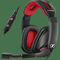 SENNHEISER GSP 350 Gaming Headset Schwarz/Rot