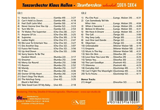Klaus Tanzorchester Hallen - Welttanztag 2016-Chartbreaker 2001-2004 Reloaded  - (CD)