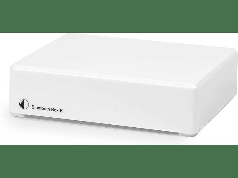 PRO-JECT Bluetooth box E Bluetooth Audioempfänger (, Weiß)