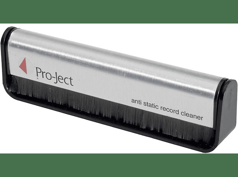 PRO-JECT Brush it Kohlefaser-Bürste, Schwarz/Silber