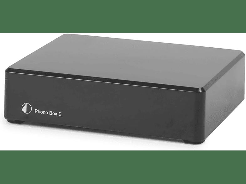 PRO-JECT Phono Box E Phono Vorverstärker (, Schwarz)
