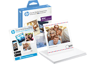 HP W 2G60 A Social Media Snapshots mit ablösbarem, selbstklebendem Fotopapier 100 x 130 mm   25x Blatt ablösbares, selbstklebendes Fotopapier im Format 100 x 130 mm