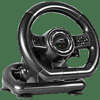 SPEEDLINK SL-650300-BK Black Bolt PC Racing Wheel Gaming Lenkrad
