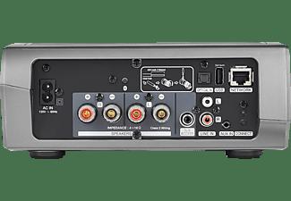 DENON HEOS AMP HS2  Verstärker App-steuerbar, W-LAN Schnittstelle, Schwarz/Silber
