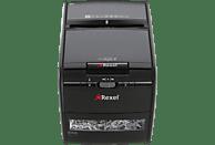 REXEL Auto+ 60X, Automatische Zuführung, Partikelschnitt, Sicherheitsstufe P-3 Aktenvernichter, Schwarz