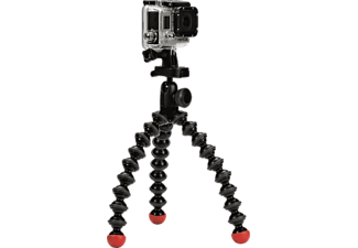 JOBY JB01300 Goril Action Tripod Dreibein Stativ, Schwarz/Rot