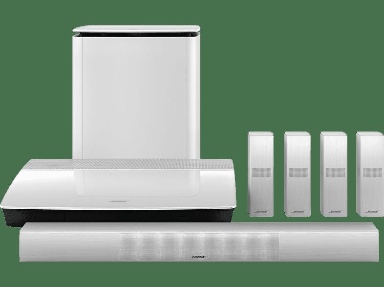 BOSE Lifestyle 650 5.1 Heimkino-System (Bluetooth, App-steuerbar, Weiß)