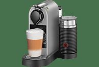 KRUPS Nespresso Kaffeemaschine CitiZ & Milk XN 760B Silber
