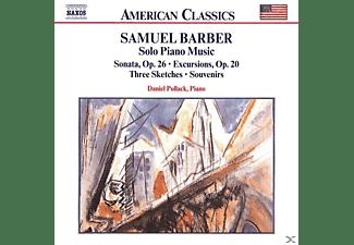 Daniel Pollack - Solo Piano Music  - (CD)