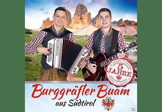 Burggräfler Buam - 5 Jahre  - (CD)