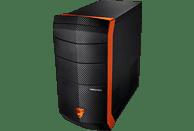 MEDION ERAZER® X7602D , Gaming PC mit Ryzen™ 7 Prozessor, 8 GB RAM, 120 GB SSD, 1 TB HDD, GeForce® GTX 1060, 3 GB