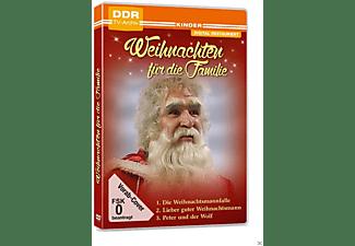 Weihnachten für die Familie: Die Weihnachtsmannfalle+Lieber guter Weihnachtsmann+Peter und der Wolf DVD