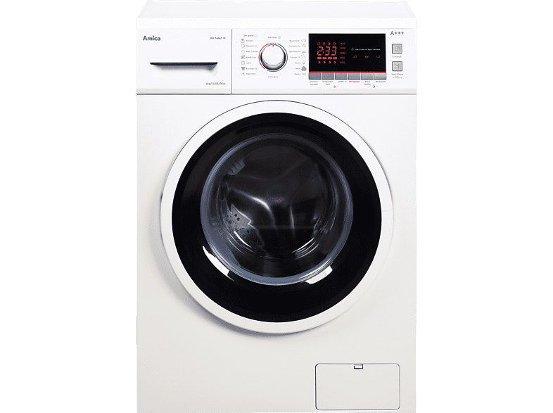 AMICA WA 14662 W  Waschmaschine (6 kg, 1400 U/Min., A+++)