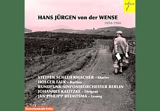 Steffen Schleiermacher / Holger Falk / Walter Seyfarth / Rundfunk-Sinfonieorchester Berlin - Hans Jürgen Von Der Wense  - (CD)