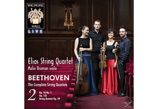 Elias String Quartet - Sämtliche Streichquartette Vol.2  - (CD)