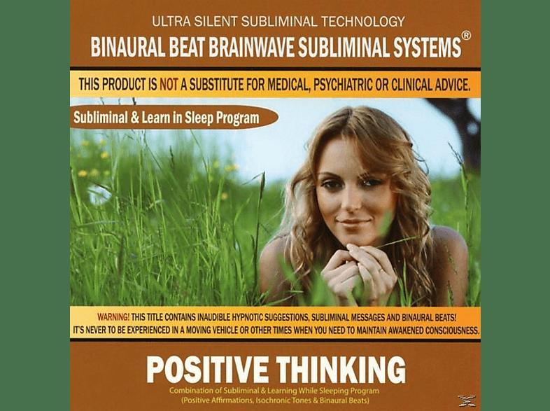 Binaural Beat Brainwave Subliminal Systems - Positive Thinking: Combination of Subliminal & [CD]