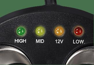 HAMA 12 Volt, 3-fach Verteiler, passend für Navigationssystem, Schwarz