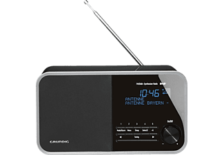 GRUNDIG DTR BB 3000 DAB+ Digitalradio, Digital, FM, DAB+, DAB, Schwarz